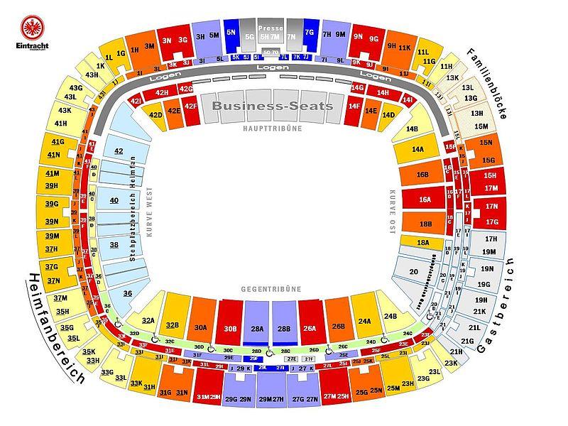 Eintracht Frankfurt Tickets Familienblock